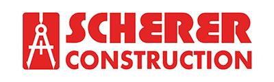 Logo for Scherer Construction